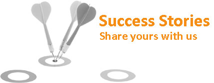 Tell Us Your Success Story